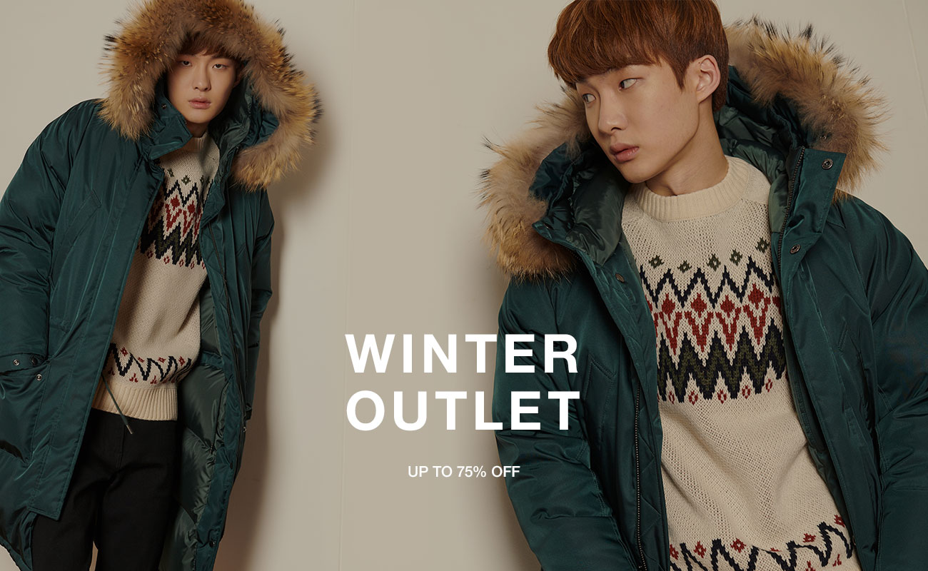 WINTER OUTLET UP TO 75%