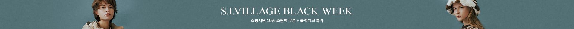 S.I.VILLAGE BLACK WEEK