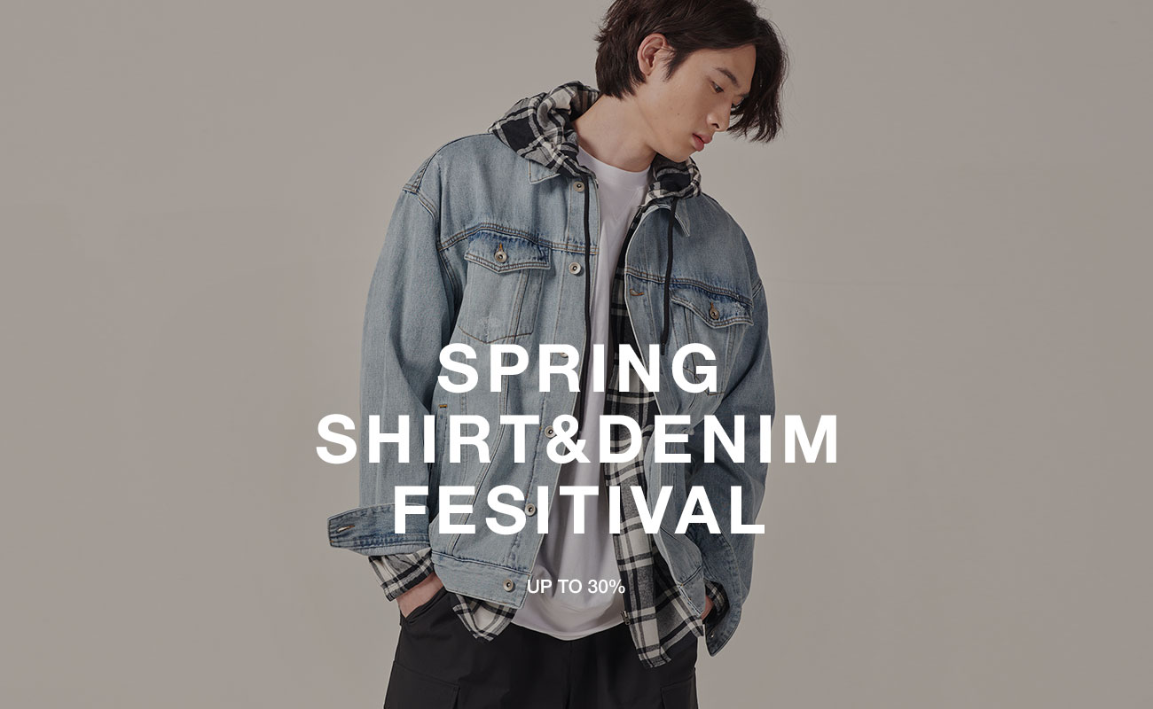 봄 셔츠&데님