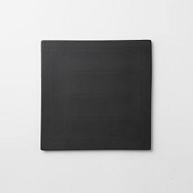 정사각 플레이트_25cm 블랙