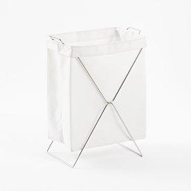 폴딩 세탁 햄퍼_화이트