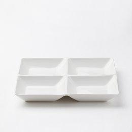라온 사각 나눔 접시_20cm