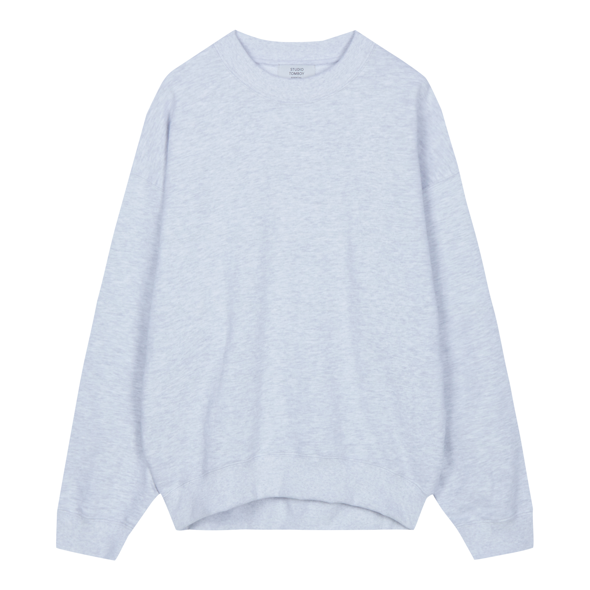 [ESSENTIAL] 베이직 맨투맨 티셔츠