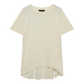 오버핏 언밸런스 티셔츠