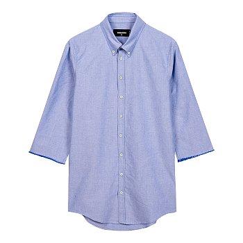 하프 슬리브 포인트 셔츠
