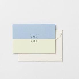 굿럭 미니 카드_10x7cm