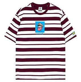 캠퍼그래픽 보더스트라이프 티셔츠