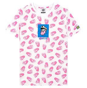 캠퍼그래픽 프레임 전판프린트 티셔츠