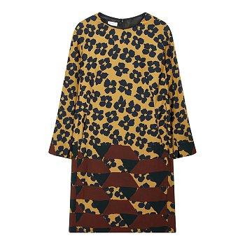 플라워 프린트 드레스