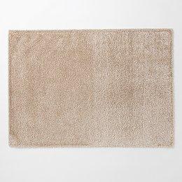베이식 워셔블 샤기 러그_200x150cm_라이트브라운