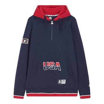 USA 스웨트 후드 티셔츠