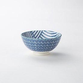 하루 패턴 미니 볼 10cm_블루