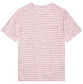 스트라이프 포켓 티셔츠