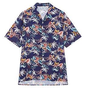 트로피컬 레이온 셔츠