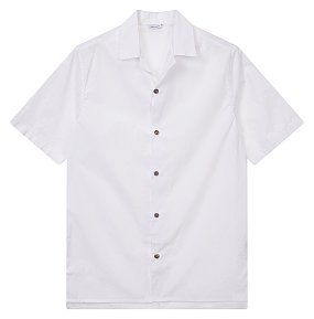 오픈카라 반팔 셔츠