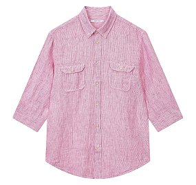 프리미엄 린넨 7부 셔츠