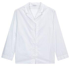 오픈카라 와이드 셔츠