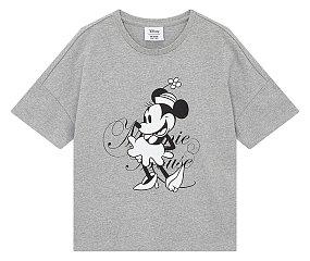 디즈니 크롭 티셔츠