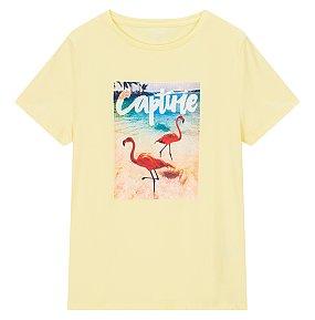 실사 그래픽 티셔츠