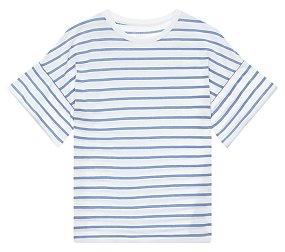 루즈핏 스트라이프 티셔츠