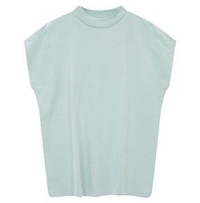 반터틀넥 루즈핏 티셔츠