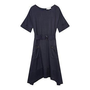 벨티드 레이온 드레스 (MARS)