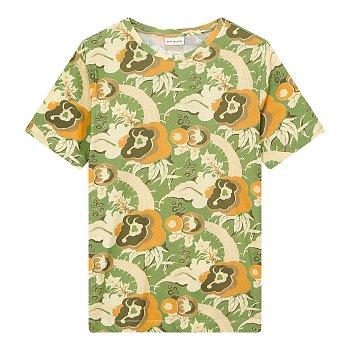 프린트 반팔 티셔츠