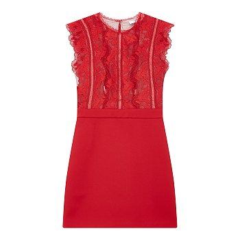 레이스 디테일 드레스 (SALLY)
