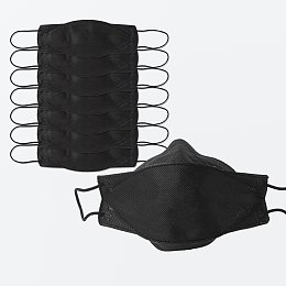 KF94 미세먼지 황사 마스크 7P_대형(블랙)