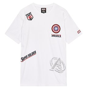 마블 멀티그래픽 티셔츠