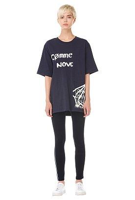 [VOV X NOVO] 오버 레터링 반팔 티셔츠