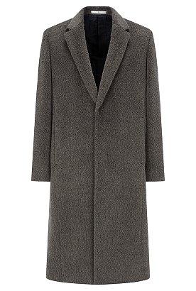[18FW] 알파카 블랜드 싱글 코트