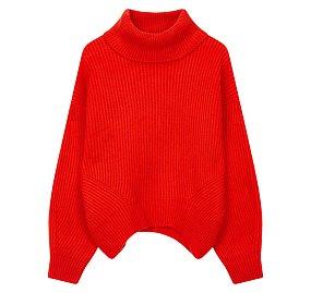 루즈핏 터틀넥 스웨터