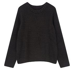 솔리드 스웨터 풀오버