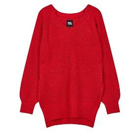 루즈핏 브이넥 스웨터