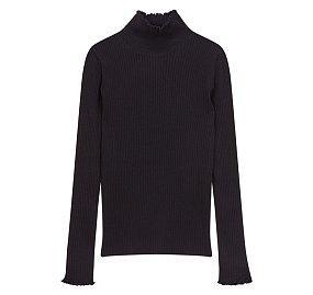 슬림 터틀넥 스웨터