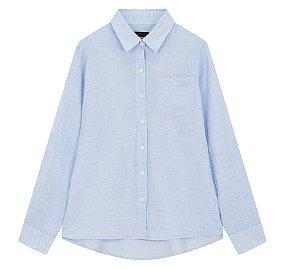 솔리드 간절기 셔츠