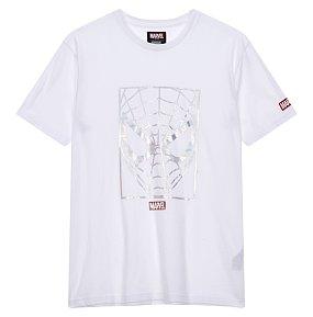 마블 호일프린트 티셔츠