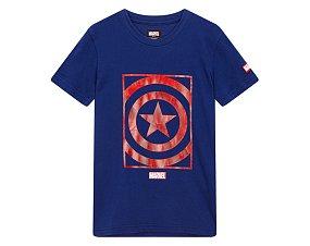 아동 마블 호일프린트 티셔츠