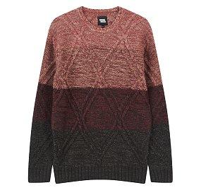 컬러블럭 스웨터