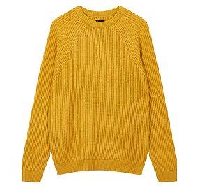 솔리드 크루넥 스웨터