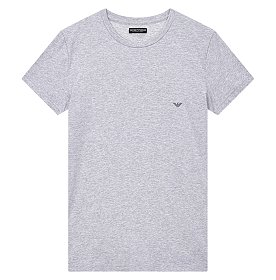 미니멀 이글 로고 반팔 티셔츠