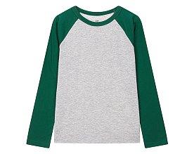 ★갭키즈 18년 FALL★ [키즈 남아 6-14세] 베이직 라글란 티셔츠