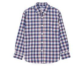 ★갭키즈 18년 FALL★ [키즈 남아 6-14세] 포플린 체크셔츠