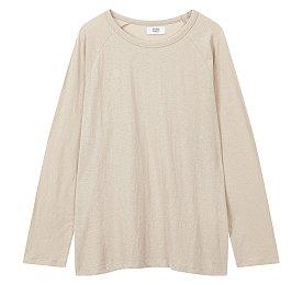 [ESSENTIAL] 롱 슬리브 래글런 티셔츠