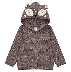 ★갭키즈 18년 FALL★ [베이비 여아 0-24개월] 사슴 가터 스웨터
