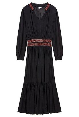 ★갭여성 18년 FALL★긴팔 에스닉 드레스