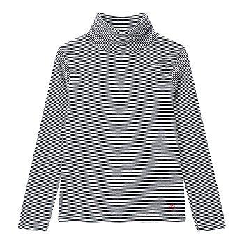 [키즈 남아] 잔 스트라이프 터틀넥 티셔츠 [3-12세]