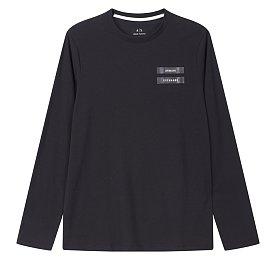 테이핑 로고 티셔츠