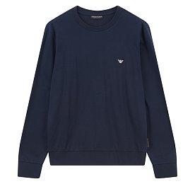 미니멀 이글 크루넥 티셔츠